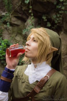 Photoshoot Cosplay: Link by Arvalus