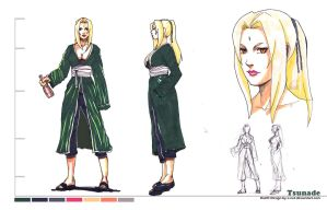 Design Tsunade by e-nat
