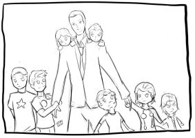 Supernanny Coulson Sketch by StephDiep