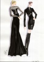 Chado Ralph Rucci - Dark Colors by shadowsphere21