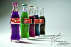 Coke Miniature Bottles by VPS