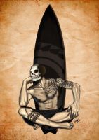 .:skull-surfer:. by Reiskocher