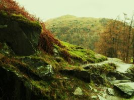Craggy Rocks by kidontherampage
