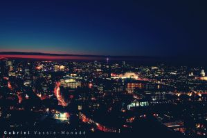 London night cityscape 2 by Gabirules54