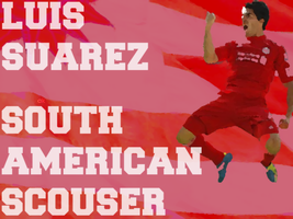 Suarez Banner by LiverpoolFC8