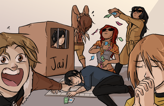 Monopoly Night by hnkkorgris