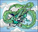 Chinese dragon by Vale9591