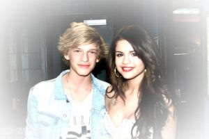 Cody Simpson and Selena Gomez by DemiFan101