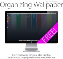 OS X Organizing Wallpaper by scottmay