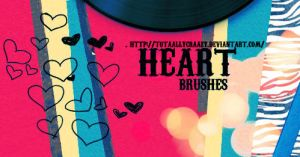 HeartBrushes by TotaallyCraazy