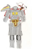 Rwby(Fallout) Professor Pip's Power Armor by ZacyN7