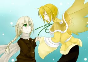 AoH: Fly with me... by hinarytea