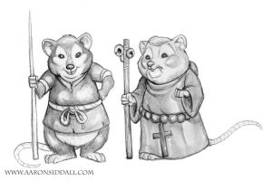 Mouse Adventurers by MythAdvocate