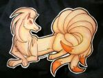 Pokemon Paper Dolls #038 - Olivia's Ninetales by SusieCurlyQ
