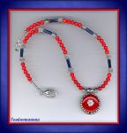 ETHNIC TIBETAN STYLE NECKLACE by Voodoomamma