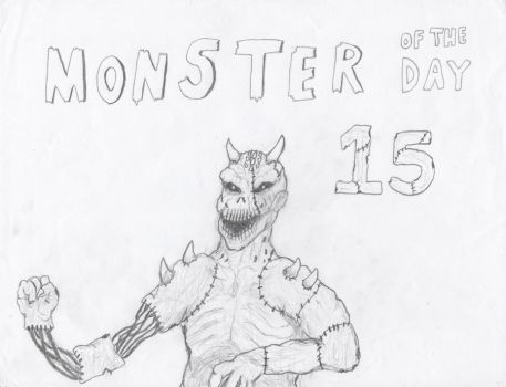 Monster of the Day 15 by gojira92
