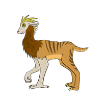lizard llama (closed) by littleadopt