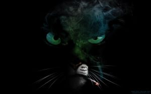 Smoking Blacksad by angelfired