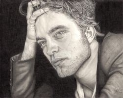 Robert Pattinson by Anthony-Woods