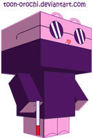 The mole cubeecraft by Toon-Orochi