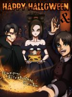 Happy Halloween and Happy Birthday Eruke by DHackWings