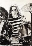 Neil Peart (again) by 8Bobby8