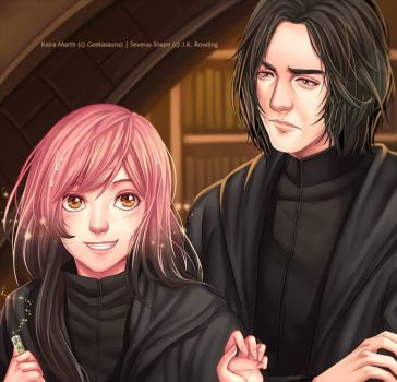 BC Commission : Kaira and Snape by nekoyasha89