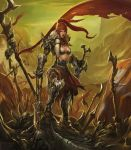 red sonja by LeeJJ