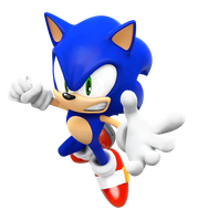 Sonic Rival 3 Pose/Render! by NIBROCrock
