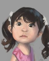Girl Caricature by 8kx