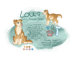 Lou's NEW ref by Spriingy