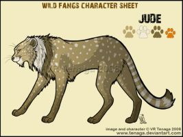 Wild Fangs Sheets_Jude by Tenaga