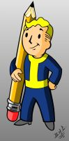 Vault Boy by Chizel-Man