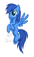 Pony Request: Cerulean by Sitrophe