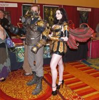 Leather Warrior Faerie Costume by BruteForceStudios