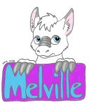 Melville Badge by bunny-hugger