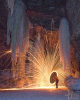 Spinning Fire and Hanging Ice by hull612