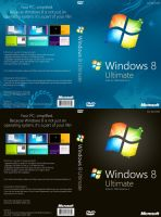 Windows 8 Build 7989 DVD Cover by Misaki2009
