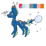 Custom 4 : Skaprador : V.Rare : 6 Mutations by ThePotato-Queen