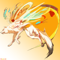 Vector Okami by oOShadeOo