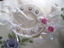 Wedding Horseshoe by CrochetWorkshop