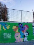 Patience - Mane Six and Derpy Graffiti by ShinodaGE