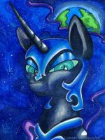 Nightmare Moon by Lunar-White-Wolf