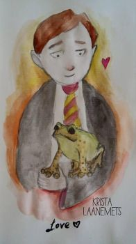 Neville Longbottom by daChelissius