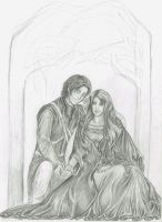 Beleg and Nellas: WIP by melime6