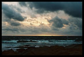 Storm at Cape Leeuwin 1 by wildplaces