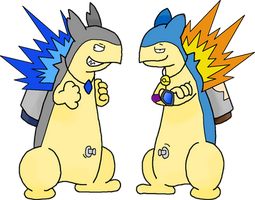END Typhlosions Shyphlosion and Jay (Updated) by TheGuyNoOneRemembers