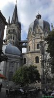 Aachen cathedral by Ryurules