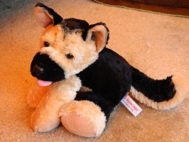 German Shepherd Plush by AlixRae