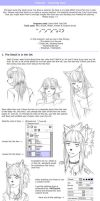 Tutorial SAI - Coloring Hair by Saruke